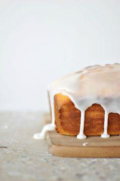 Meyer lemon & ricotta cake