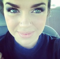 Double nose piercings.