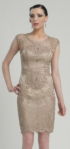 Great Gatsby bridesmaid. Gunique-vintage.com