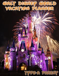 Walt Disney World Vacation Planner via http://typeaparent.com #DisneySMMoms