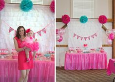 This is the fanciest birthday party I've ever seen...and its for a 1 year old.