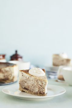 Cinnamon Swirl Cheesecake with Oatmeal Cookie Crust | The Candid Appetite | The Candid Appetite