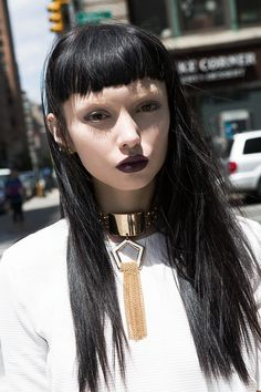 White hot, summer goth; featuring Kiki from #TheWallGroup