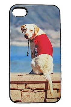Don't just keep a photo of your favorite furry friend in your phone. Keep it on your phone with a Personalized iPhone Case for Pet Lovers.