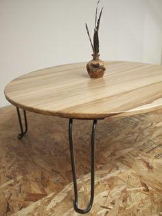 Artist Sean Woolsey's coffee table design