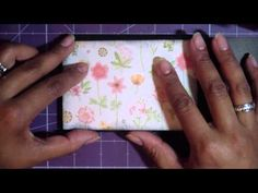 Paperbag Mini Album: Spring Beauty, Part 3!