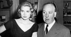 Grace and Alfred Hitchcock