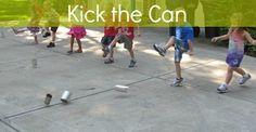 Kick the Can game by Teach Preschool