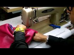▶ How To Make A Leather Bucket Bag Part 3 of 4 - YouTube