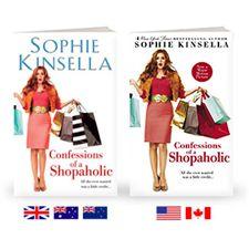 Shopaholic series by Sophie Kinsella