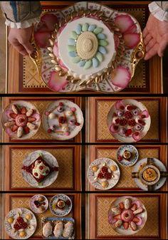 Marie Antoinette desserts
