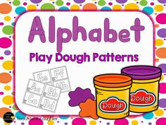 FREE Play Dough Alphabet patterns!