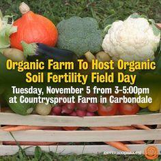 Organic Farm To Host Organic Soil Fertility Field Day. More Here: http://jackson.kfvs12.com/news/111213-organic-farm-host-organic-soil-fertility-field-day-nov-5