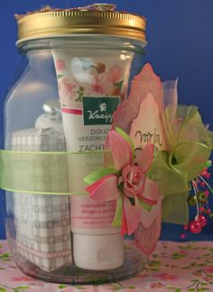 kittys craft, spa in a jar