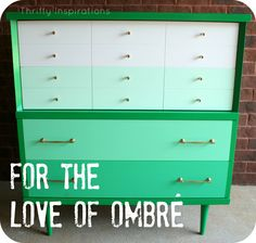 MCM Ombre Chest Green