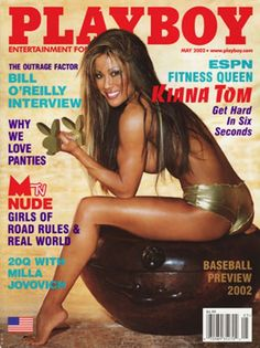 Playboy magazine cover May 2002