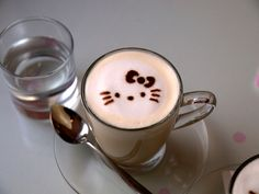 Hello Kitty in a cup