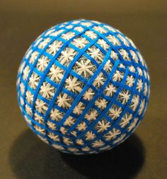 "Temari Balls - The  Creation of a 88 Year Old Japanese.  The amazing creations of a 88 year old japanese grandmother, practicing with talent the art of ""Temari"", a Chinese art imported into Japan in the 7th century."