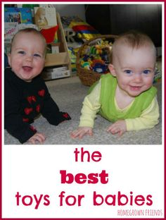The Best Toys for Babies (Homegrown Friends)