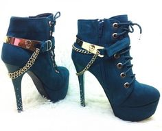 Special Named you fashion High Heel High Heels Boots (black,green)