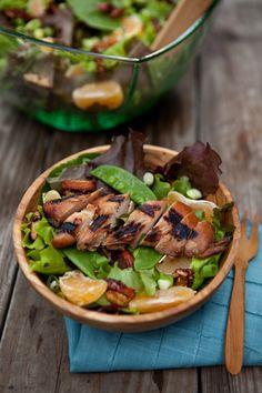 Honey Sesame Dressing for Asian Chicken Salad