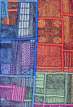 Traced Markings: Phase II Pojagi/Bojagi by Mary Ruth Smith
