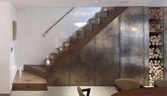 Firewood interior design, dream, design interiors, parks, luxury houses, house interiors, wood storage, staircas, holland park