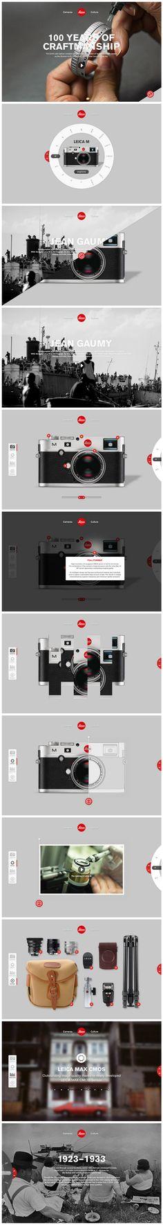 Leica | #webdesign #it #web #design #layout #userinterface #website #webdesign < repinned by www.BlickeDeeler.de | Take a look at www.WebsiteDesign-Hamburg.de