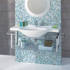 I'm into glass tile right now. Good idea for our master bath.