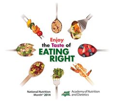 National Nutrition Month - 2014 - From the Academy of Nutrition and Dietetics