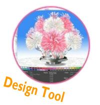 Centerpiece Design Tool (party favors that create a centerpiece..you get to pick school colors)