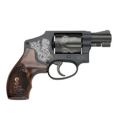Engraved Smith & Wesson .38 special--gorgeous!