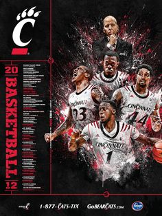 Cincinnati Bearcats Basketball 2012.