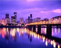 Portland. City of bridges