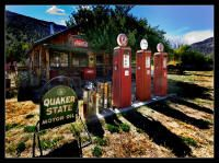 Old Gas Station, Embudo, New Mexico