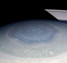 Saturn's Strange Hexagon –In Living Color!