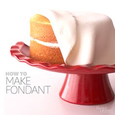 how to fondant, full howto, making cakes