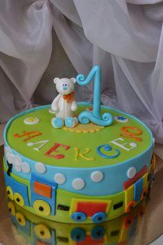 Торт на один годик ребенку