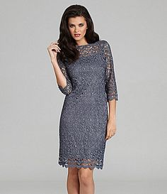 Marina Lace Dress #Dillards
