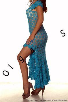 Vestido de crochê | Artigos na categoria Vestidos Crochet | Artesanato: LiveInternet - Russo SERVIÇO de Diarios on-line