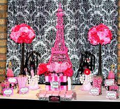 Lovely Paris Party #parisparty