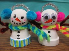 adorable snowman craft
