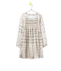 Image 1 of GEOMETRIC PRINT DRESS from Zara
