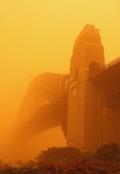 Dust Storm Blankets Sydney & Brisbane
