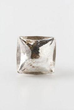 Mercury glass knobs