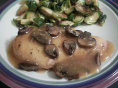 Cook with Sara: Crockpot Chicken Marsala
