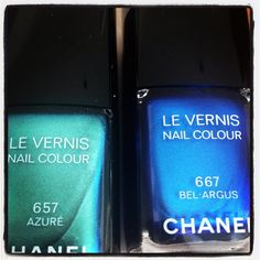 summer 2013 #chanel #nails #manicure