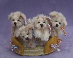 tiny stuffed animal puppies...