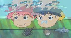 Ponyo y Sosuke :)