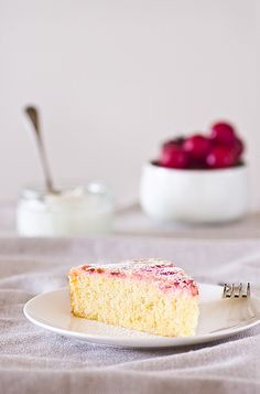 Lemon plum cake by hippopie, via Flickr